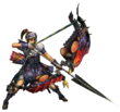 MHP3-Bow Equipment Render 001