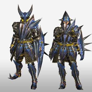 FrontierGen-Gizami G Armor (Gunner) (Front) Render