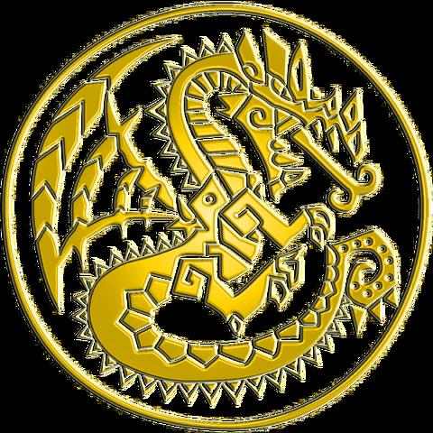 File:Monster Hunter Logo Gold.png