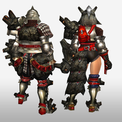 File:FrontierGen-Gurabide G Armor (Gunner) (Back) Render.jpg