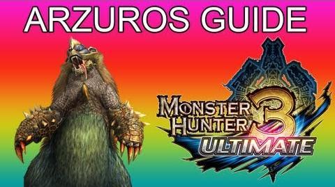 Monster Hunter 3 Ultimate - G1★ Arzuros guide アオアシラ-2