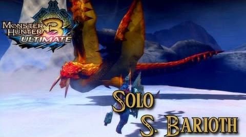 Monster Hunter 3 Ultimate - Sand Barioth