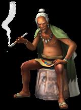 Moga village chief