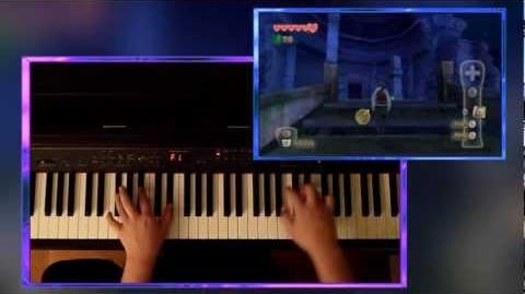 Zelda Skyward Sword - Fi's Piano Lament Fi's Theme