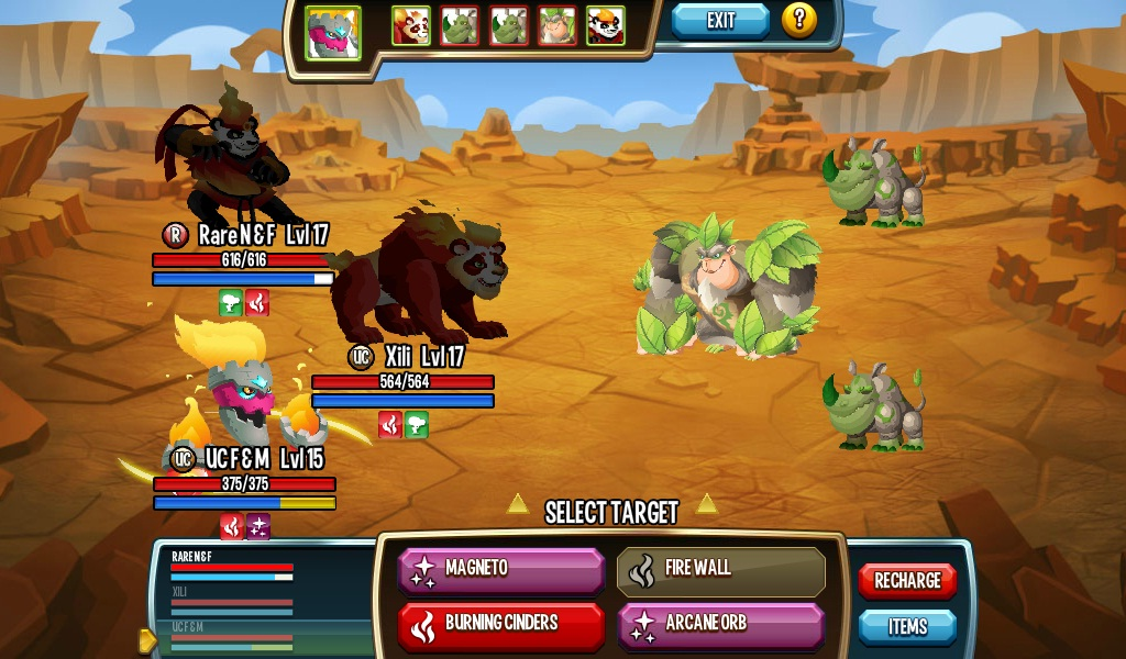 how to change your monsters in monster legends