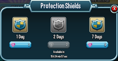 Protection shields