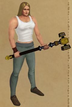 Dwarf-Lord's Warhammer