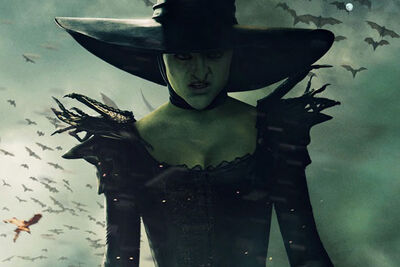 Oz the great and powerful wicked witch