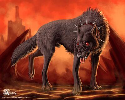 Hell hound by azany-d58f65o