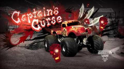 Monster Jam - Monster Jam- Path of Destruction - Captain's Curse Monster Truck Highlights