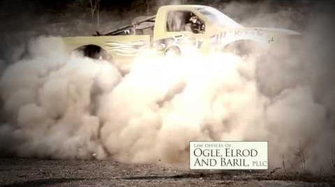 Ogle, Elrod, & Baril Monster Truck Commercial