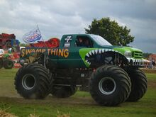 Swamp Thing Monster Truck