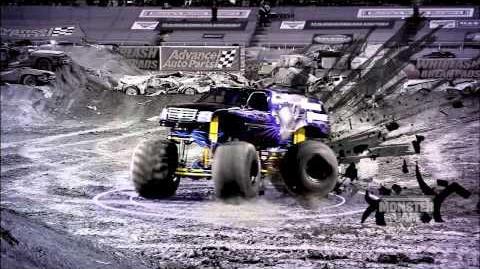 Monster Jam - Monster Jam- Path of Destruction - Mohawk Warrior Monster Truck Highlights