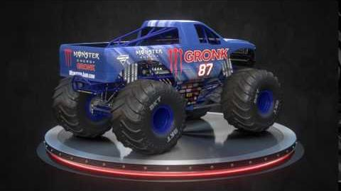 Gronk Monster Jam Truck Reveal