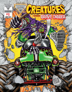 NVArt Creatures Comic 1C