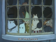 Moomins, Sniff and Snufkin
