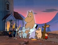 Moomins and Aliens
