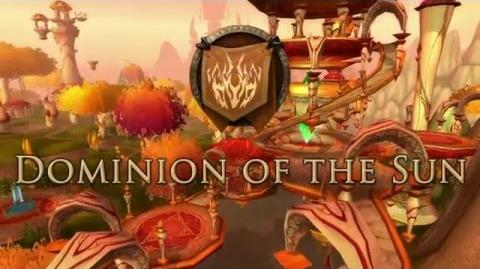 Dominion of the Sun Blood Elf RP-PVP