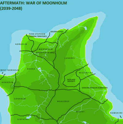 Moonholm WAR