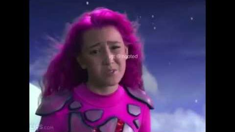 Triggered lava girl