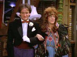 Mork and Mindy Robin Williams Anita Dangler