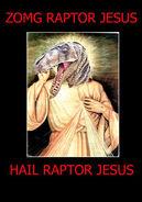 LOL RAPTOR JESUS by Devious Derek-1-