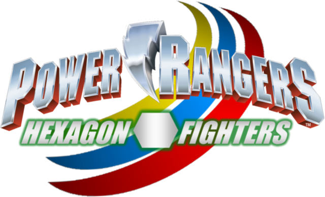File:Power Rangers Hexagon Fighters logo.png