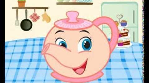 I'm a little teapot - English nursery rhyme + lyrics