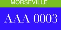 Morseville License Plates