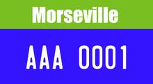 MorsevilleLicensePlate-1