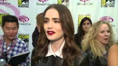 Lily and Jamie interviews at WonderCon