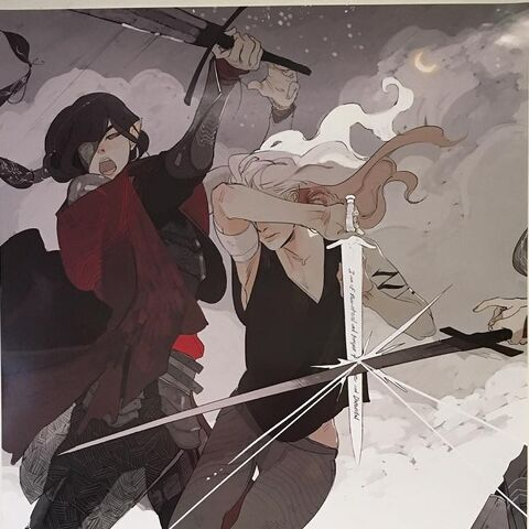 Ethna fighting Emma Carstairs