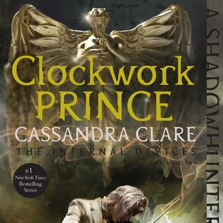 <i>Clockwork Prince</i> repackaged, US paperback