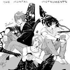 Jordan, Jace e Simon