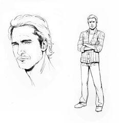 Design do personagem <a href=