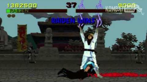 MK I Fatality RAIDEN