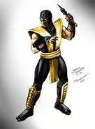 Scorpion mortal kombat by jameslink-d5ukpte