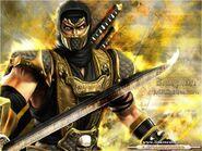 A espada de scorpion