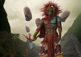 Aztec warrior by meewtoo-d58iva3