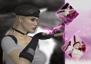Sonya blade kiss wallpaper by fullm8n-d33w4sa