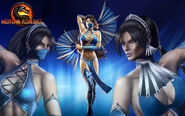 Mortal kombat custom wallpaper kitana by blueorichalon-d4qkgdj
