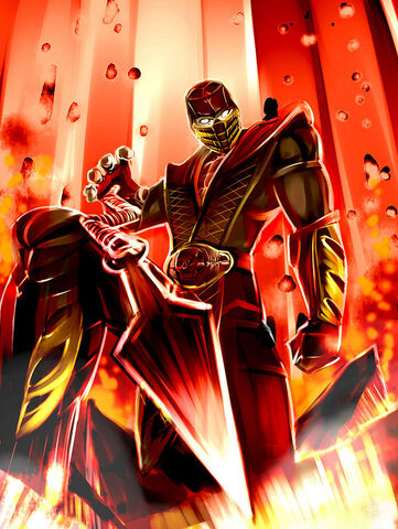 File:Scorpion Mortal Kombat by masquevale.jpg