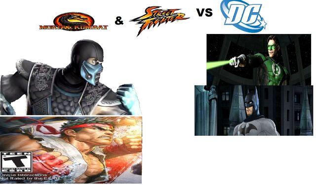 File:Mortal Kombat & Street Fighter Vs Dc Universe Wiki.jpg