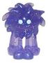 Flumpy figure glitter purple