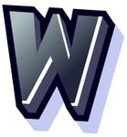 WallScrawl Alphabet - W