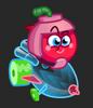 Moshi Karts moshlings neon Cherry Bomb