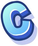 WallScrawl Alphabet - C