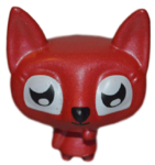 Lady Meowford figure bauble red