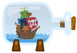 Cap'n Buck's Ship In A Bottle