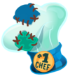 Blue Top Chef Hat